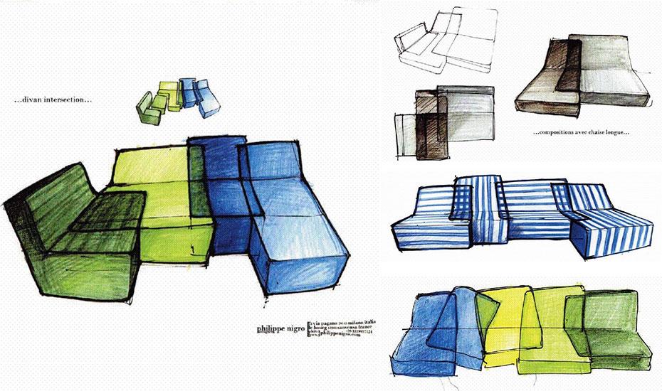 Intersection, design Philippe Nigro, prototype
