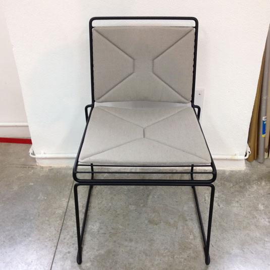 Prototype d'une galette de chaise